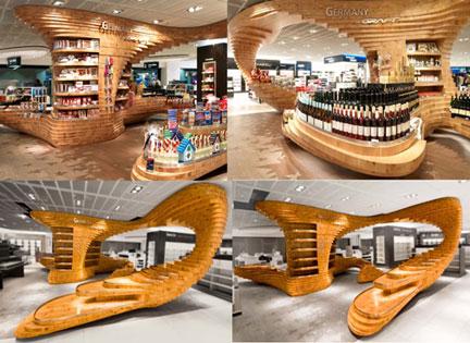 Just Inspiration: Amazing Modern Wood Furniture by Graft | Visual Merchandising Blog